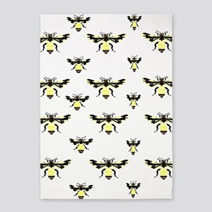 Honey Bees 5'x7'area Rug